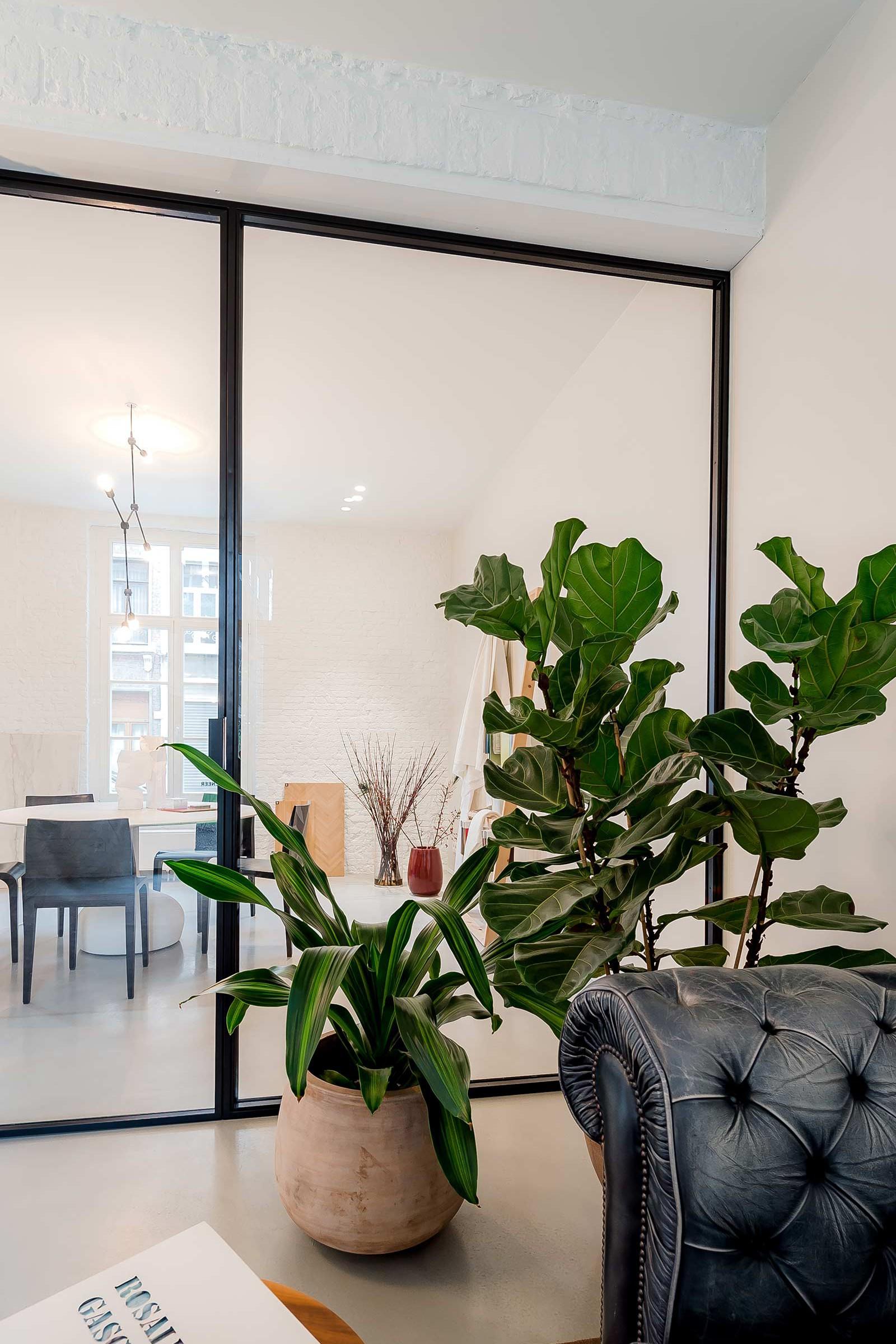 Studio Tolleneer - Office Antwerpen - Rijkswachtkazerne - steel frame stalen frame
