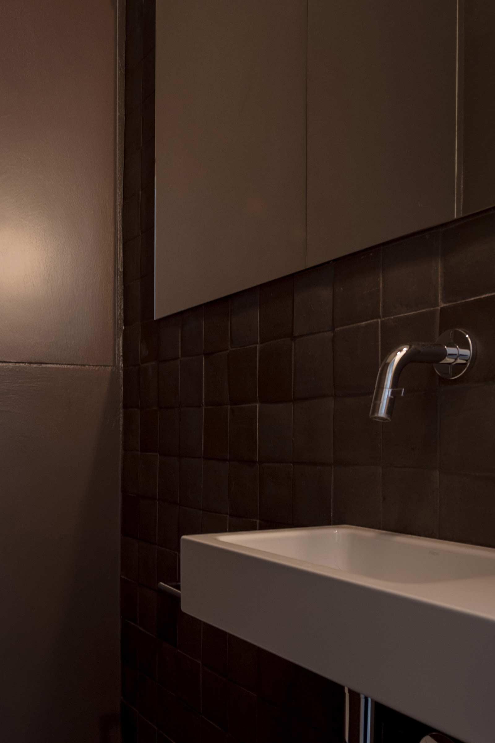 Studio Tolleneer - Office Antwerpen - Rijkswachtkazerne - Domenico Mori tegels tiles