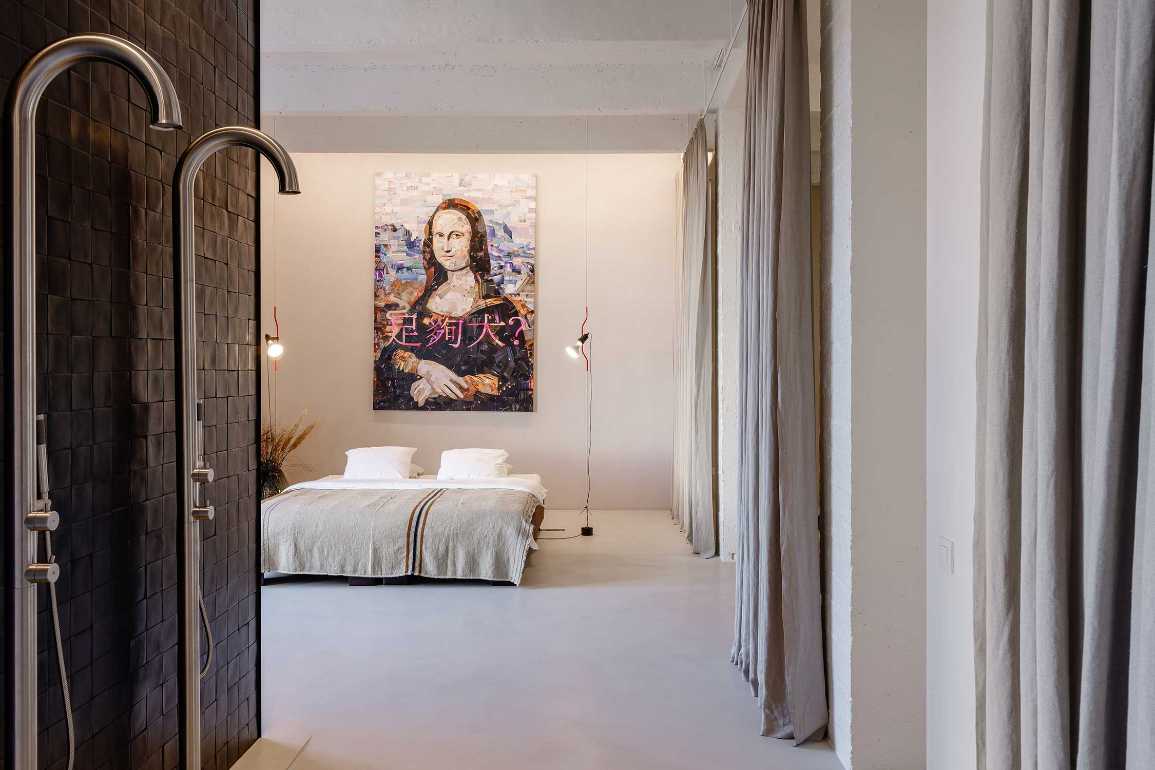 Studio Tolleneer Loft Eilandje Antwerpen Interieur Domenicomori tiles
